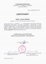 Certifikát DACH